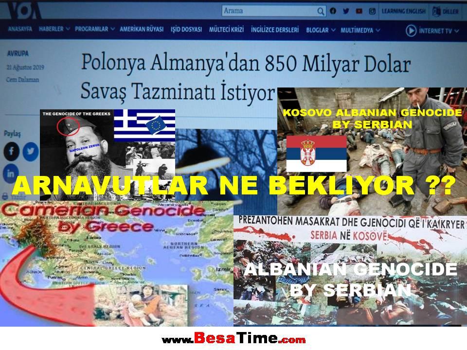 POLONYA ALMANYA'DAN 850 MİLYAR DOLAR SAVAŞ TAZMİNATI İSTİYOR